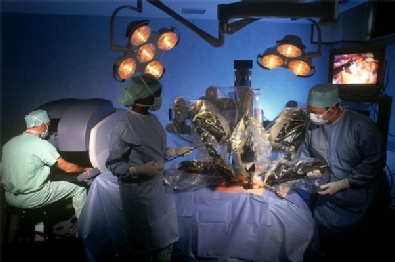 Rectal cancer surgery with Da Vinci robot